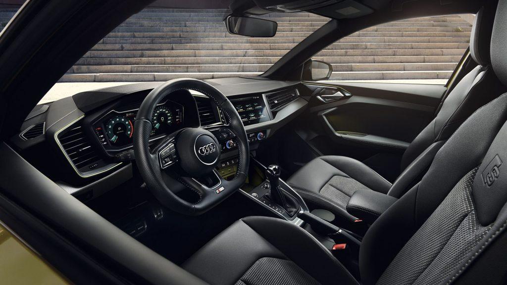 Intérieur de l'Audi A1